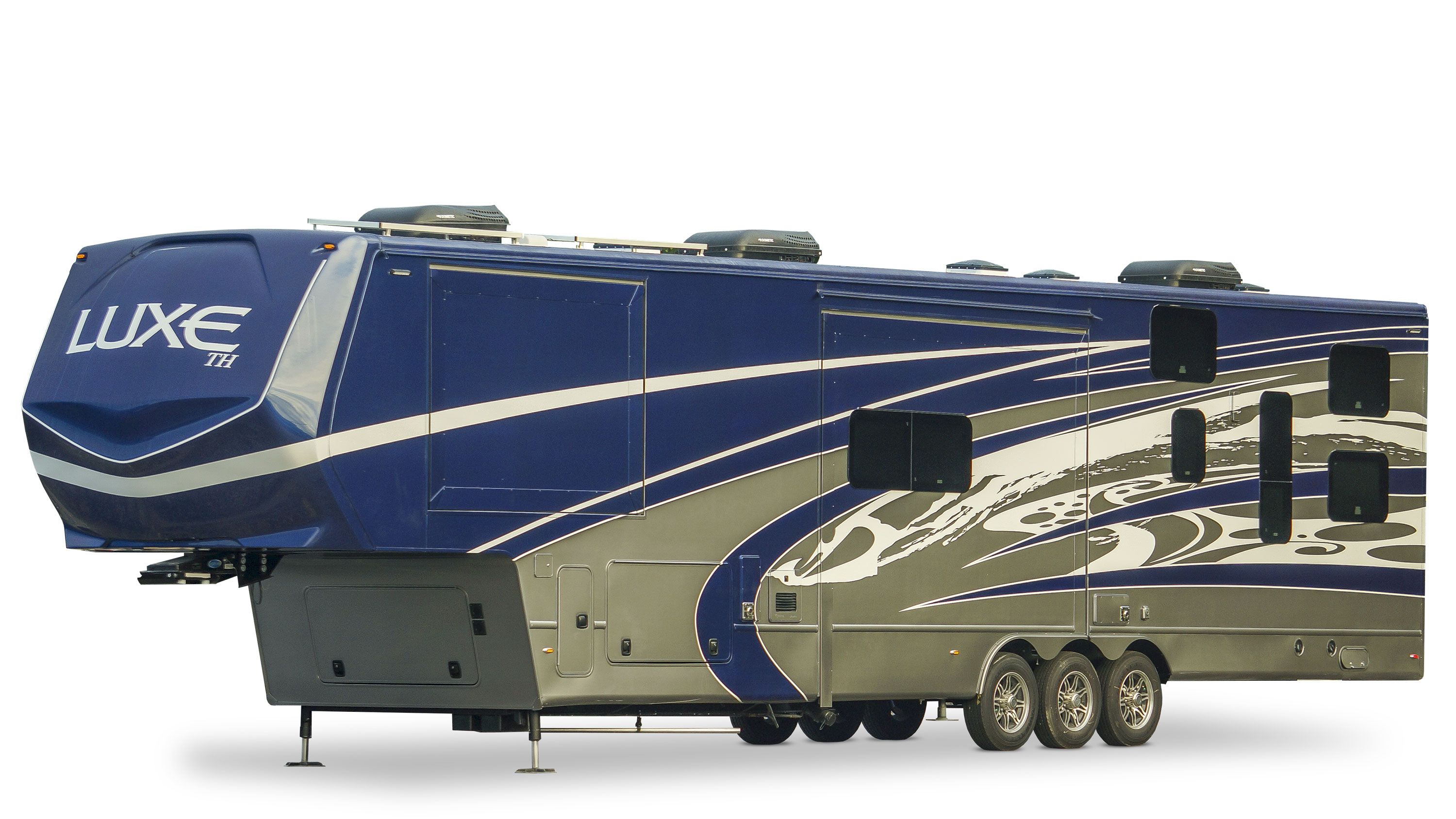 luxury toy hauler exterior