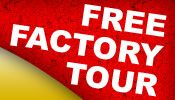 weekend warrior free factory tour RVs