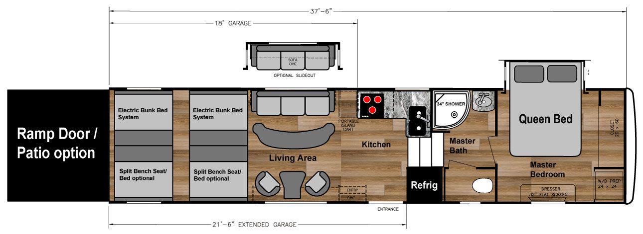 5th wheel toy haulers floor plans – meze blog
